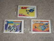 1985-86 GI Joe *Starduster* Marvel Mini Comic Lot # 1, 2, 3-Ralston Cereal Promo