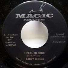 RANDY WILSON 45 I Feel So Good / Pauline MAGIC blues organ  Jr1096
