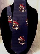 Silk Tie Fireman The Saturday Evening Post Vintage
