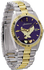 Black Hills Gold eagle mens watch quartz analog silver