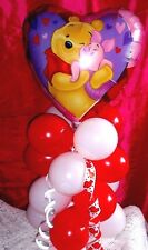 WINNIE THE POOH TABLE DISPLAY VALENTINES BIRTHDAY ENGAGEMENT  NO HELIUM NEEDED