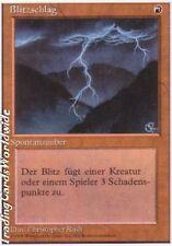 Lightning Bolt // EX // Foreign White Bordered // deut. // Magic the Gathering