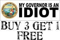 "Trump Bumper sticker Because I kinda like Freedom and sh*t 8.7/"" x 3/"" Decal"