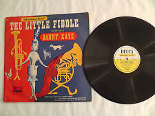 10 inch 78rpm Kiddie record  -  Danny Kaye - Decca #DU-11 The Little Fiddle
