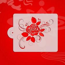 Rose Flower Stencil Cake Bakeware Decorating Tools For Party Template Wedding