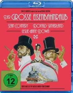 Der große Eisenbahnraub [Blu-ray/NEU/OVP] von Michael Crichton mit Sean Connery