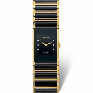 Rado R20789752 Women's Integral Black Quartz Watch