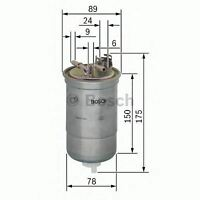 NEW ENGINE FUEL FILTER OE QUALITY REPLACEMENT BOSCH 0450906267
