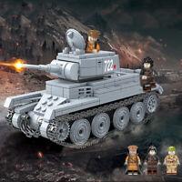 462pcs BT-7 Leichter Panzer Tank Modell mit Soldat Figuren Bausteine Spielzeug