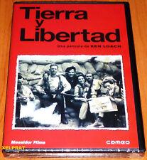 TIERRA Y LIBERTAD Ken Loach - DVD R2 - Precintada