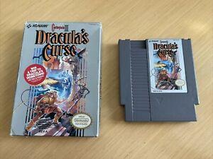 Castlevania III 3 Draculas Curse Nintendo Nes In Box No Manual rare | Cosmetic