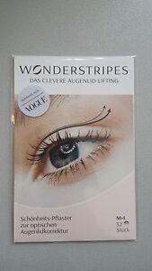 Wonderstripes Augenlid-Lifting ohne OP Mittel + Groß 52 Stück