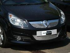 Zunsport Vauxhall Corsa D 2005 Onwards Front Stainless Steel Grille Set