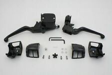 Contour Style Handlebar Control Kit Black for Harley Davidson by V-Twin