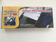 Rollator Hitch attachment for Hand Wagon shopping basket walker Mobility in box