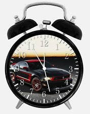 """Mustang Cobra GT Alarm Desk Clock 3.75"""" Home or Office Decor Y22 Nice For Gift"""