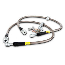 Brake Hydraulic Hose-Stainless Steel Brake Lines Front Stoptech 950.65003