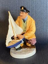 Royal Doulton Sailor's Holiday Figurine Hn 2442 1971 Limited Man With Sailboat
