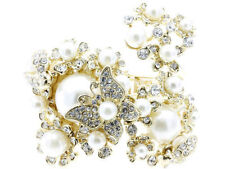Butterfly Pearl Beaded Costume Bracelets