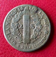 France - Louis XVI - Constitution - Jolie Monnaie de 2 Sols 1792 BB François
