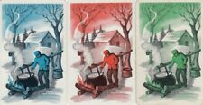 VINTAGE SWAP PLAYING CARD - 3 SINGLE - MEN - #19