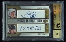 2005-06  SIDNEY CROSBY ROOKIE UPDATE INSPIRATION RARE/176 ONLY BGS 9.5 RC POP 6