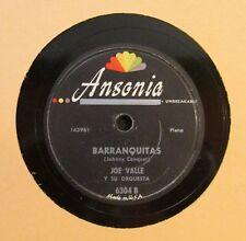 JOE VALLE Y SU ORQ / BARRANQUITAS / PA; BAYAMON / 78 RPM RECORD