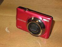 Fujifilm FinePix JV Series JV310 14.0 MP Digital Camera - Red