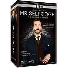 Mr. Selfridge The Complete Series Season 1-4 Boxset (DVD 2016) 1 2 3 4 Mr New