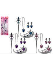 Fairy Princess Set Accessories Set Tiara Crown Magic Wand Jewellery Gift