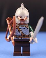 LEGO® LORD OF THE RINGS™ custom ROHAN Soldier™ Minifigure Archer + Sword Ver 2