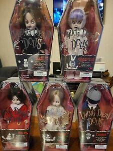 Living Dead Dolls Series 1 Complete Set - SEALED UNOPENED