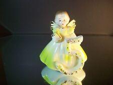 Vintage Josef Originals Birthday Angels 5 Years Old Brunette Hair Brown Eyes