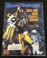 SPORTS ILLUSTRATED John Stallworth Steelers Super Bowl January 28 1980