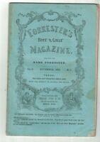 Forrester's Boys & Girls Magazine November 1852 Tunnels Geology Stories