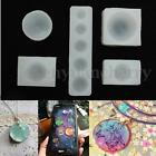 5Pcs/Set Half Round Cabochon Silicon Mold Mould For Epoxy Resin Jewelry Making