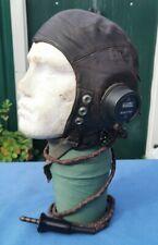 More details for ww2 raf 2nd patt c-type flying helmet - size 4.
