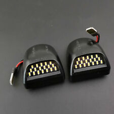 Fit 1999-2013 Chevy Silverado Avalanche GMC Sierra LED License Plate Lights Lamp