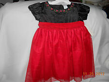 DRESS ( SIZE 2T)  NEW .....HOLIDAY TODDLER...