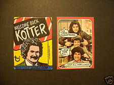 1976 WELCOME BACK KOTTER CARD SET *free wrapper*  TOPPS