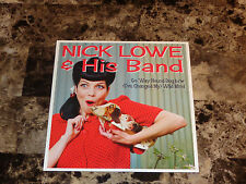 """Nick Lowe & his Band Rare Limited 7"""" Vinyl Record 45 Go 'Way Hound Dog 2011 NEW"""