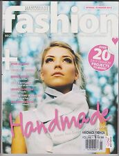 HANDMADE FASHION Magazine Spring/Summer 2012, Over 20 Easy Projects How to Make.