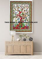 Mandala Tree of Life Indian Wall Hanging Bohemian Poster Large Tapestry Handmade