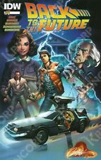 IDW Mexico BACK TO THE FUTURE #1 J. Scott Campbell Variant