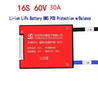 New 16S 60V 25A Lithium ion Li-ion LiPo  BMS PCB Protection w/Balance