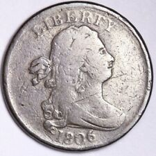 1806 Draped Bust Half Cent CHOICE F+ FREE SHIPPING E101 RFM