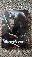 Prototype 2 Steelbook Steelcase g1 ps3 Xbox 360 Mint New -- no Game