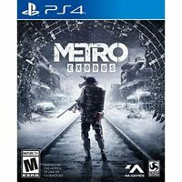 Metro Exodus For PlayStation 4 PS4 Shooter Very Good 3E