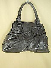 Kenneth Cole Reaction Black Leather NWOT Large Satchel Bag $375