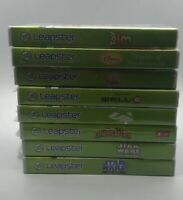 Leapfrog Leapster Green Learning System LOT BUNDLE w/8 GAMES CARTRIDGES